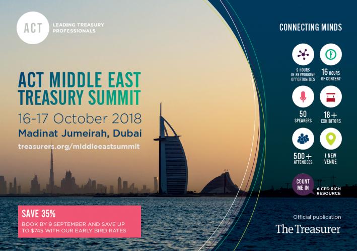 ACT Middle East Treasury Summit 2018 - brochure