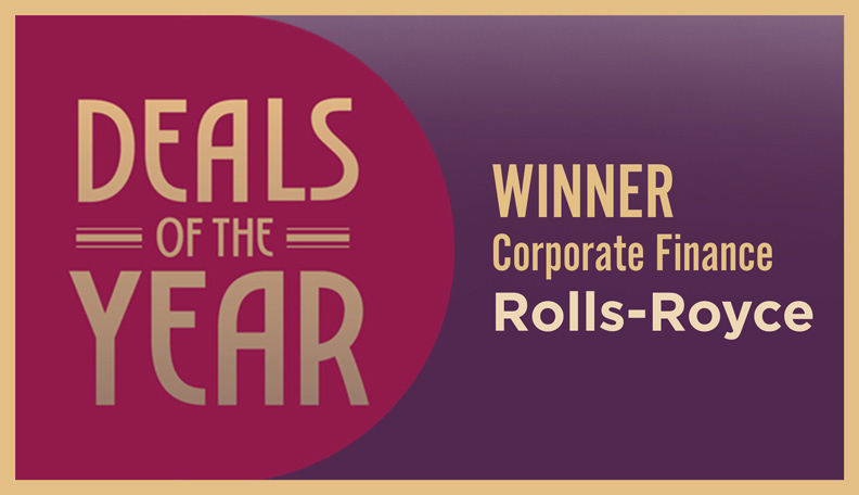 Rolls-Royce ACT Deals of the Year
