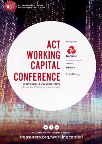 ACT Working Capital Conference 2019 - Brochure