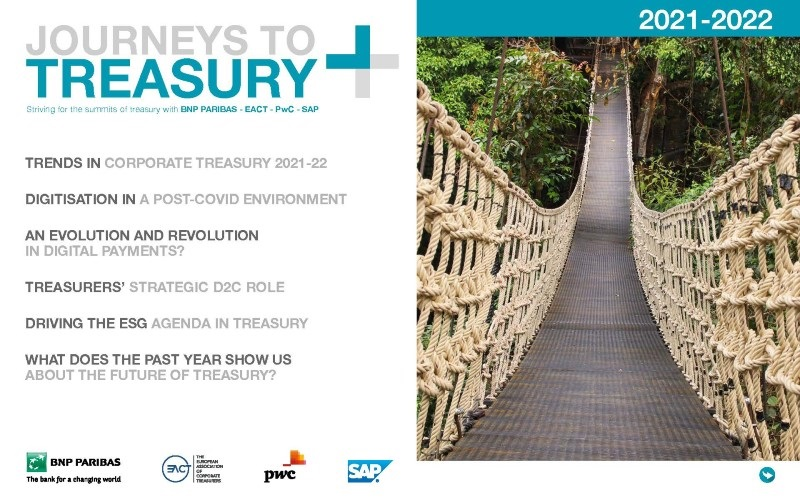 Cover of Journeys to Treasury research report