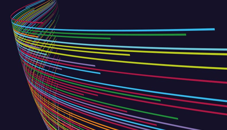 """businessoftreasury.jpg alt=""""Illustration of a colourful digital swirl, which appears on the cover of The Business of Treasury 2020 report"""""""