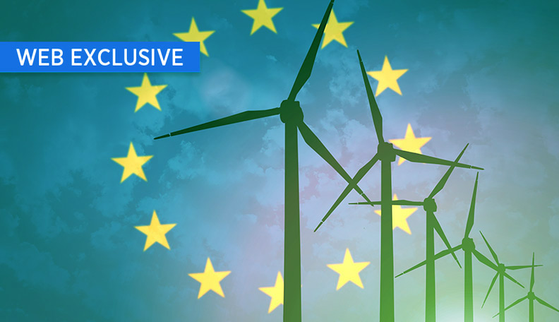 """esg.jpg alt=""""Illustration of wind turbines with the EU flag superimposed in the background"""""""