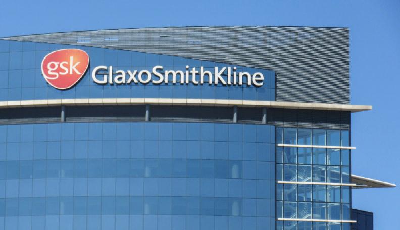 Image of a GlaxoSmithKline building