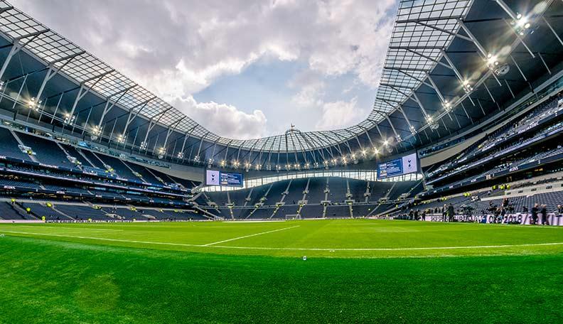 Image of the Tottenham Hotspur stadium