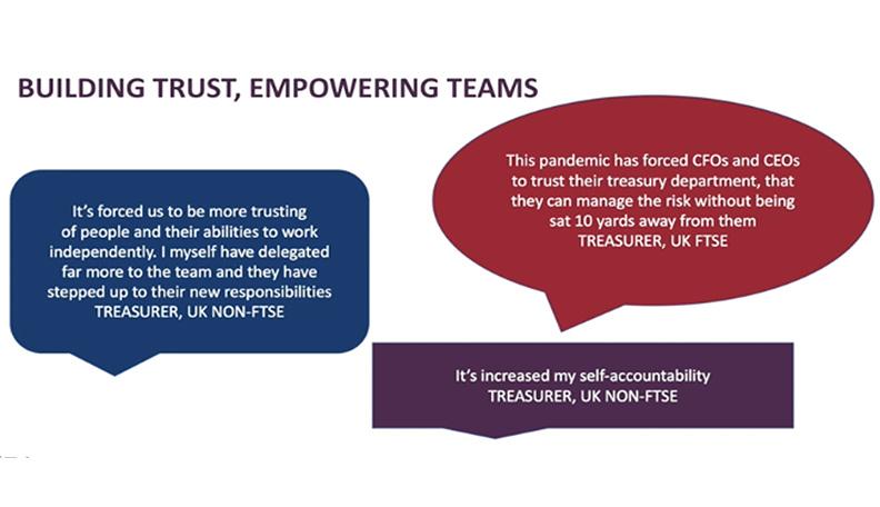 Image of trust graphic