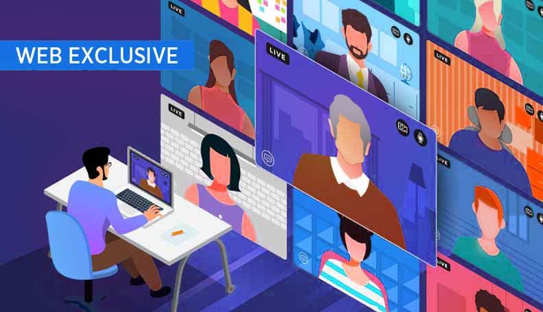 """waywework.jpg alt=""""Illustration of co-workers having a virtual meeting"""""""