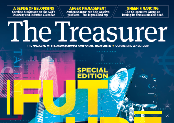 The Treasurer October/November issue cover
