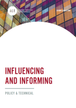 ACT Policy & Technical - Influencing and Informing