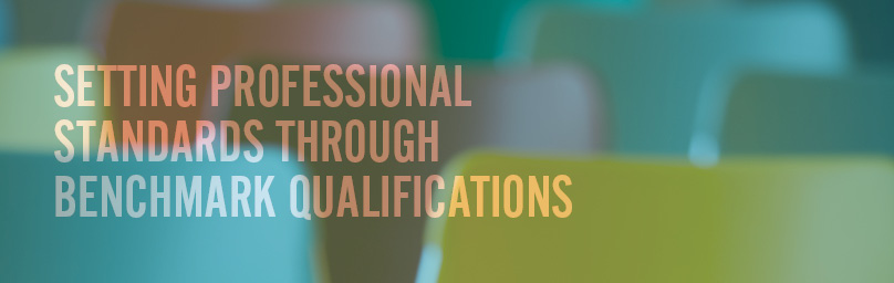 Setting standards through benchmark qualifications