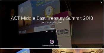 ACT Middle East Treasury Summit 2018_Photos