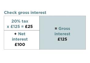 check gross interest
