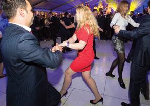 Dancing Treasurers..