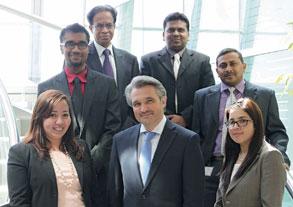 ESAGG treasury team