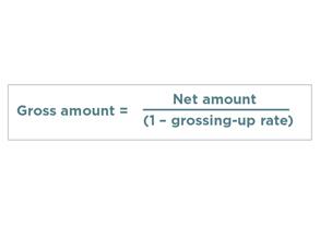 gross up diagram 1