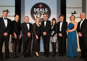 The Deals of the Year Awards judges group photo
