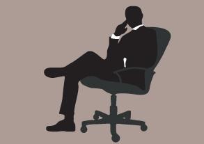 Male boss image