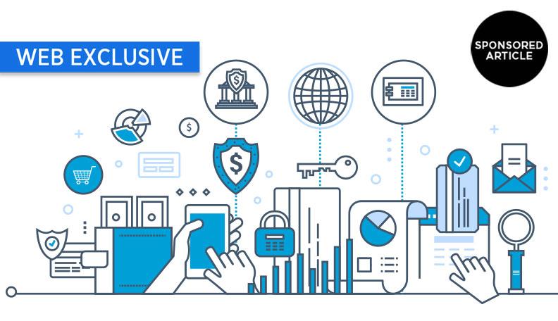 Illustration of individual elements of digital banking