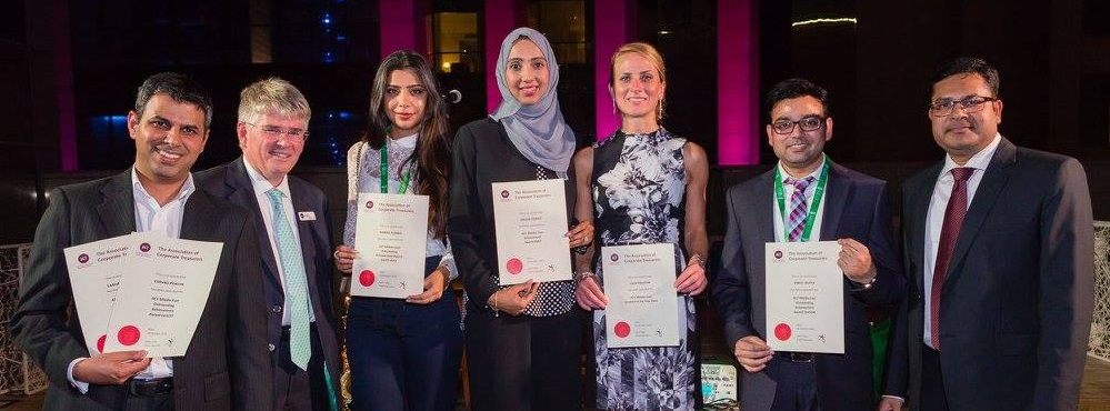 Middle East student awards winners 2016